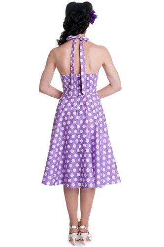Kleid Lavendel Hell Mariam 50's S EU Bunny 38 50's xtqFqXr