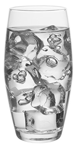 Monte Carlo Wine - Red Co. Monte Carlo Tumbler Set, Classic Durable Drinking Glasses, Set of 6, 15 oz