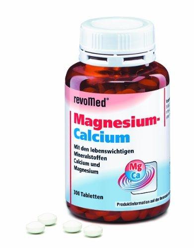 Dolomita magnesio-calcio Tabletas (300 tabletas) para resistentes Músculos y Hueso