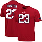 Houston Texans Arian Foster Red Eligible Receiver Name and Number T-Shirt