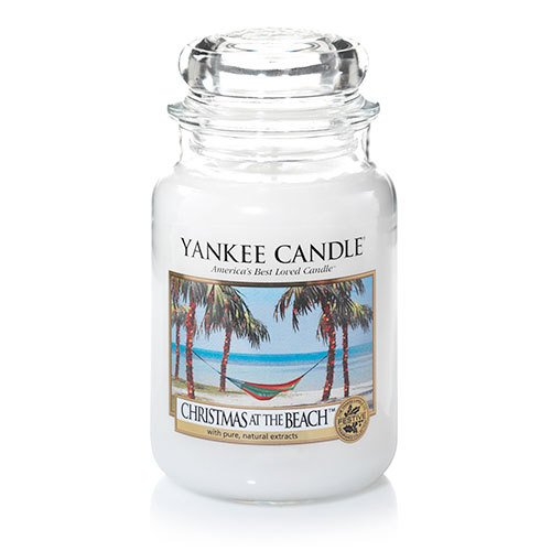 (Yankee Candle Christmas at The Beach Large Jar Candle, Fresh Scent)
