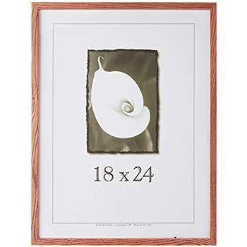 Frame USA Architect Picture Frame, 18 x 24, Honey