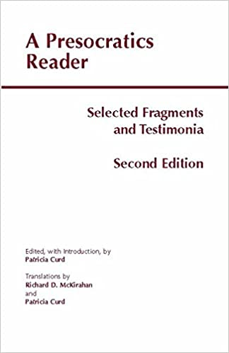 ~DJVU~ A Presocratics Reader: Selected Fragments And Testimonia (Hackett Classics). Contact utilizo nuevo social comment
