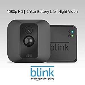 Blink XT Home Security Camera System with Motion Detection, Wall Mount, HD Video, 2-Year Battery Life and Cloud Storage Included - 1 Camera Kit