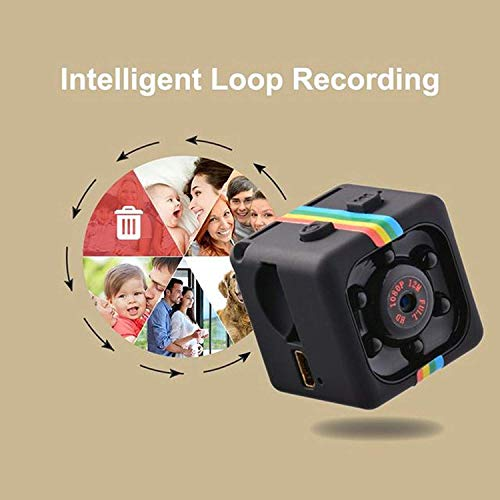 Hidden Spy Camera 1080P Mini Security Wireless cam with Night Vision, Video Recorder for Nanny/Housekeeper, Sports Action Cam with Motion Detection for Home, Car, Drone, Office and Outdoor Use by ITLOOK (Image #5)