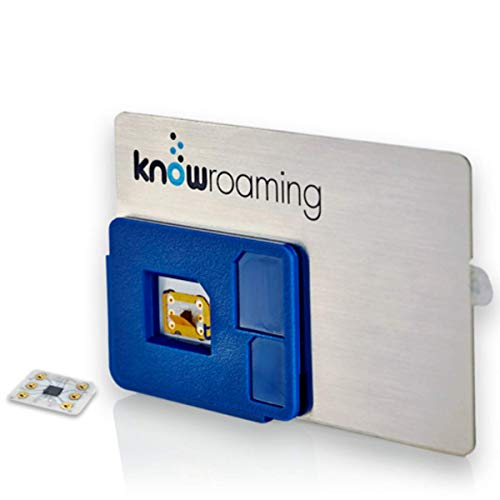KnowRoaming Global SIM Sticker - Automatically Connect to Local Networks in 200+ Countries. Voice, Text and 4G LTE 3G Data Without The Roaming Fees - for iPhone, Android and Windows Mobile Phones