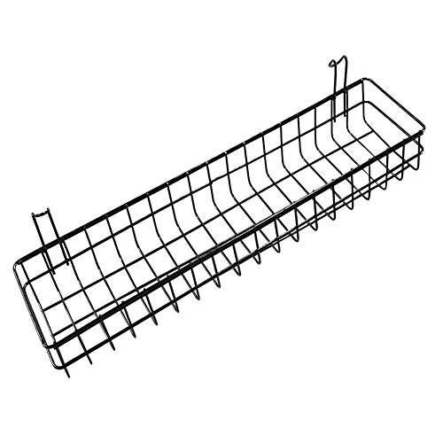 Hanging Baskets,Wire Baskets Organizer Hanging Baskets for Bathroom Wall,Closet Storage,Kitchen,Fruit and Vegetables(15.7'' x 3.9'' x 2'') by HLovebuy