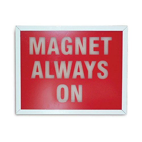 Light-Up Wall Sign''Magnet Always On'' Wall Mount