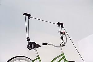 Amazon.com : Bike Hoist System 50lb Capacity! : Indoor