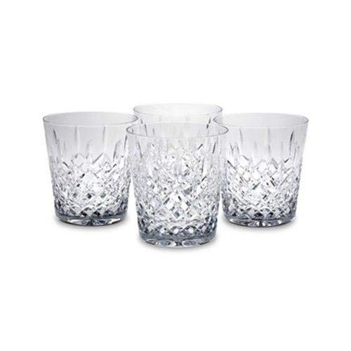 Crystal Hamilton Double Old Fashioned Glass (set of 4) - Four Fashioneds Old Double