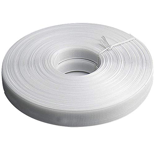 Teemico Polyester Boning for Sewing - Sew-Through Low Density MaxPro Boning for Corsets, Nursing Caps, Bridal Gowns (White, 8mm)