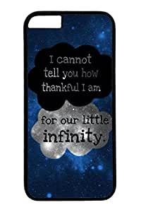 iPhone 6 Case, Personalized Unique Design Covers for iPhone 6 PC Black Case - Infinity