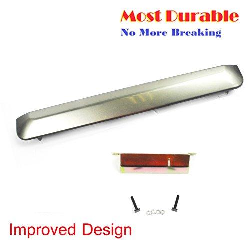 For 04-06 Scion xB Tailgate Handle Garnish Trim Strip 1D2 Thunder Cloud Metallic with hardware kit 04 05 06 - Metallic Hardware