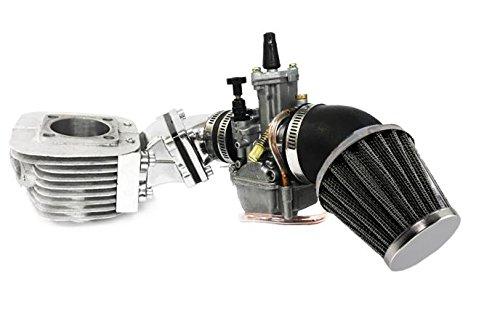 - Zeda Dio Performance Motorized Bicycle Engine 2 Stroke Bike Motor Upgrade Kit