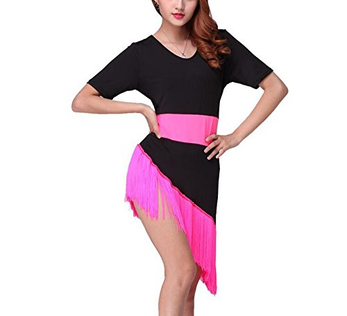 Fringe Latin Ballroom Dance Group Competitions Outfit Costumes Uniforms for (Latin Dance Outfits Costumes)