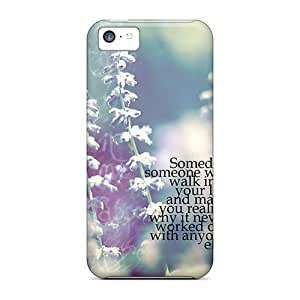 Hot Someday Someone First Grade Tpu Phone Case For Iphone 5c Case Cover