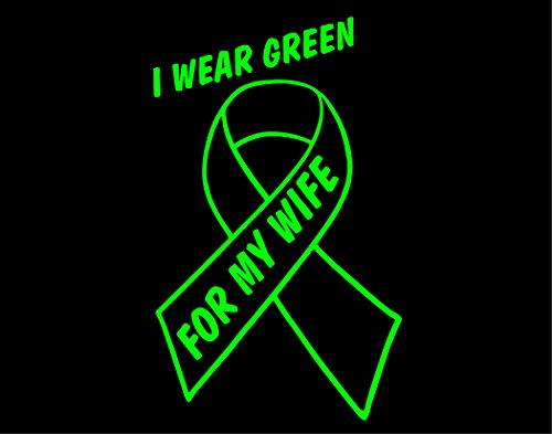 I Wear Lime Green For My Wife - Lymphoma (4