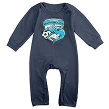 Antigua Barracuda FC BABY Funny Long Sleeves Baby Onesies Jumpsuit For Babies
