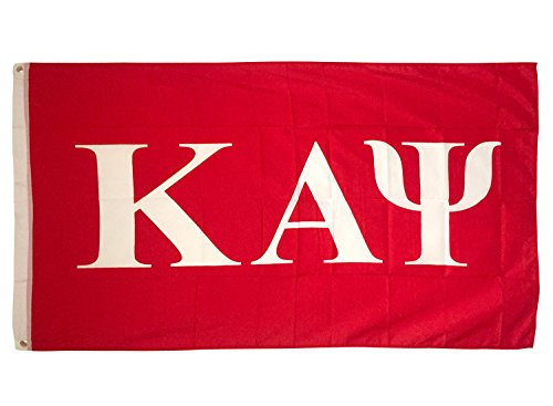Kappa Alpha Psi Letter Fraternity Flag Greek Letter Use as a Banner Large 3 x 5 Feet Sign Decor Nupe Review