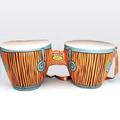 [Inflatable Bongo Drums] (Beatnik Costumes Ideas)