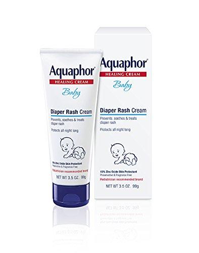Aquaphor Baby Diaper Rash Cream 3.5 Ounce (Pack of 3)