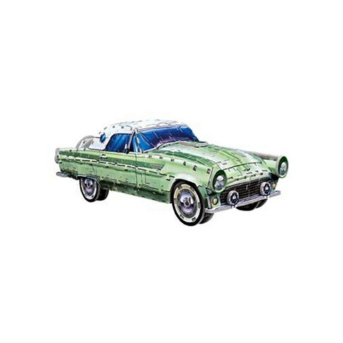 - Ford Thunderbird, 357 Piece 3D Jigsaw Puzzle Made by Wrebbit Puzz-3D