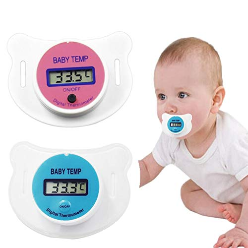 OBELLA BOUTIQUE 20pcs Cute infant Pacifier LCD Digital Baby Nipple Thermometer Mouth Nipple Pacifier Health Monitors 40% Off by OBELLA BOUTIQUE