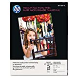 HP Premium Plus Photo Paper, High Gloss (50 Sheets, 8.5 x 11 Inches), Office Central