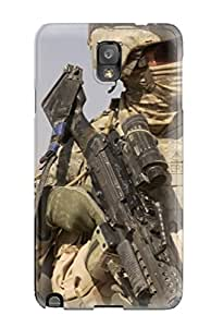 Premium WibXxsM449vRvun Case With Scratch-resistant/ Soldier Military Case Cover For Galaxy Note 3