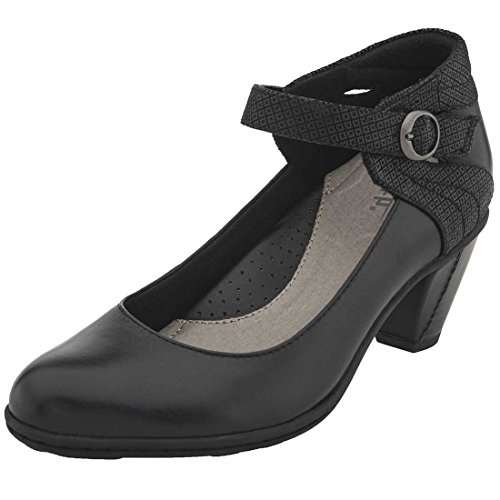 Garnet Women's Full Black Earth Leather Grain qZCPg0xw