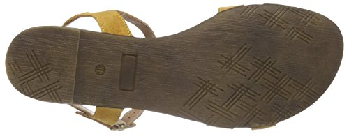 Marco Tozzi Premio 28141 - Sandalias Mujer Amarillo - Gelb (SUN 602)