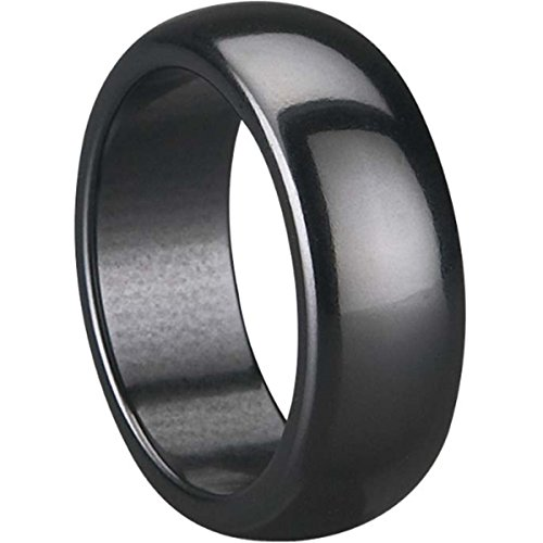 (Jude Jewelers 8mm Black Ceramic Ring)