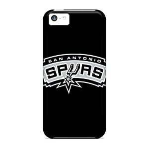 Fashionable IIAligu6163fiUdP Iphone 5c Case Cover For Nba San Antonio Spurs 1 Protective Case