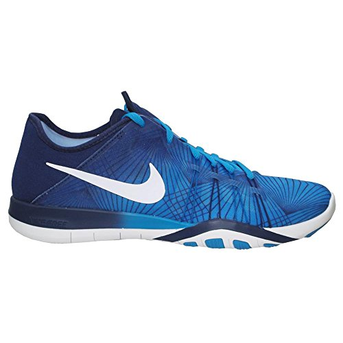 Nike Wmns Free TR 6 Print - Damen Freizeitschuhe Sneaker - 833424-400, Groeße :38.5
