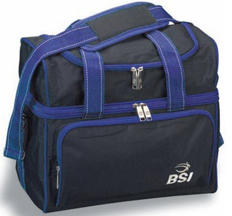 Epco High Quality BSI Series Bocce or Bowling Bag- Blue and Black [Misc.]