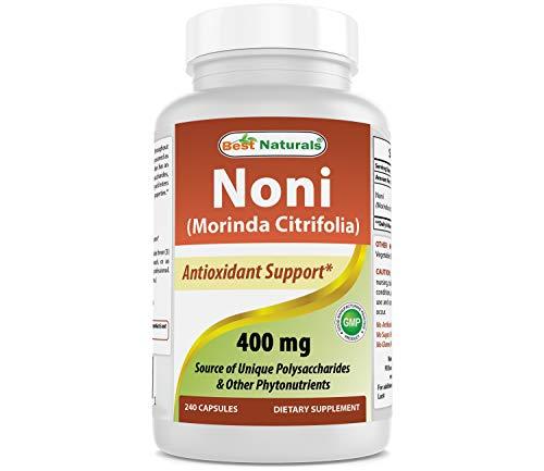 [노니] Best Naturals Noni 400 mg 240 Capsules [노니원액]