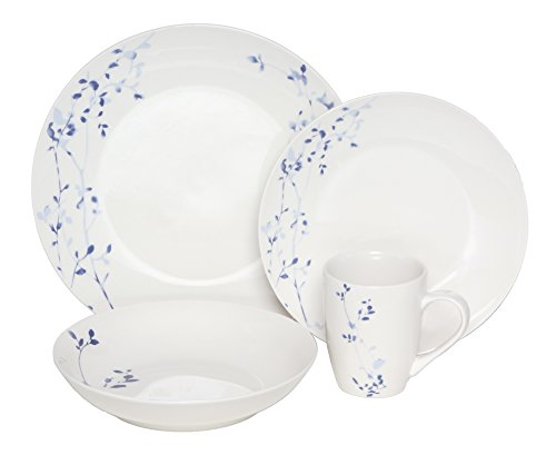 Melange Coupe 32-Piece Porcelain Dinnerware Set  | Service f