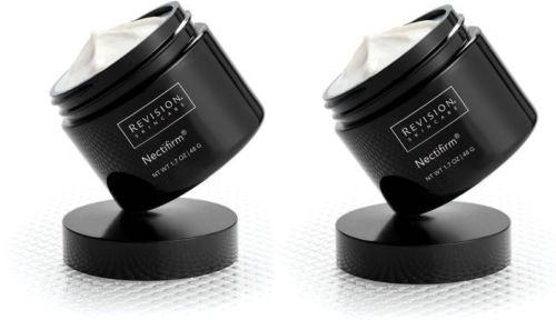 Revision Nectifirm 2-PACK- Firming Cream For Neck & Decolletage, (2) 1.7 oz Jars New Fresh Product
