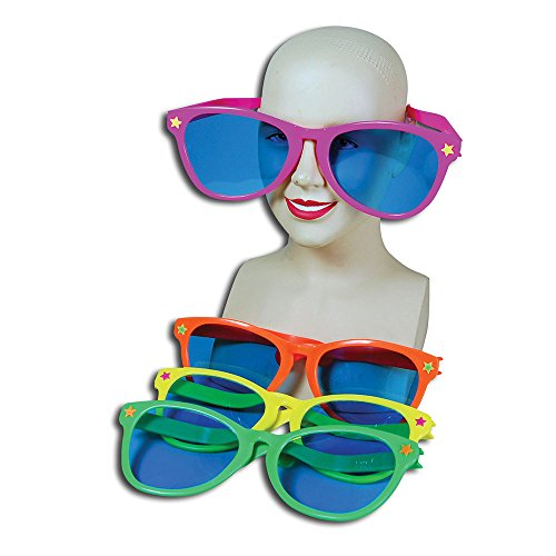 Bristol Novelty GJ186 Sun Specs Jumbo Party Accessory Set, Multi-Colour, One Size ()