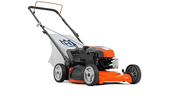Husqvarna LC 153S Empuje Cortacésped mulching, ruedas motrices ...