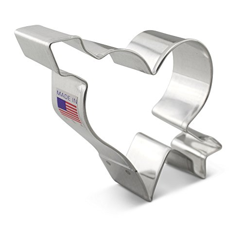 Ann Clark Heart with arrow Cookie Cutter - 3.75 Inches - Tin Plated -