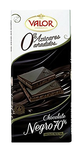 Chocolates Valor - Chocolate Negro 70% - 125 g: Amazon.es: Alimentación y bebidas