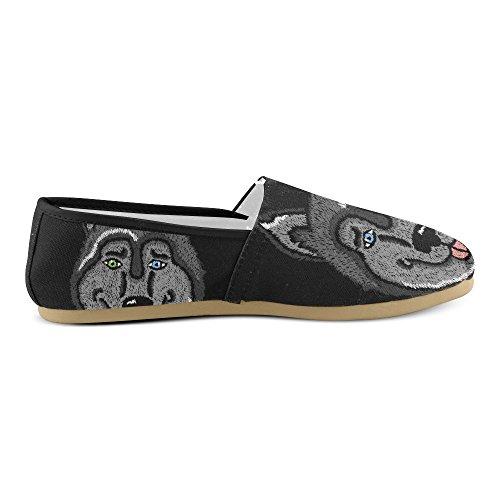 D-story Mode Sneakers Lägenheter Klassisk Slip-on Tygskor Loafers Multicoloured19