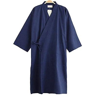 Summer & Autumn Japan Thin Hotel Spa Robe Cotton Bathrobe Sleepwear (40.55'') , c