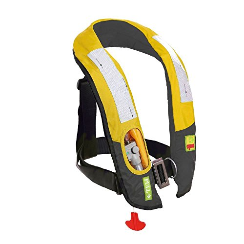 Eyson Inflatable Life Jacket Life Vest Highly Visible Automatic (Yellow)