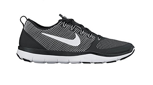 Nike Free Train Versatility Black/White Mens Cross Training Shoes, Negro, blanco, blanco, 44 D(M) EU/9 D(M) UK