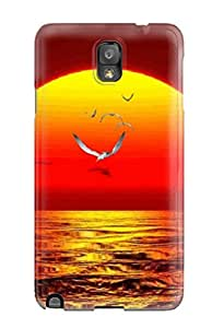 High-quality Durability Case For Galaxy Note 3(water Animated Nature)
