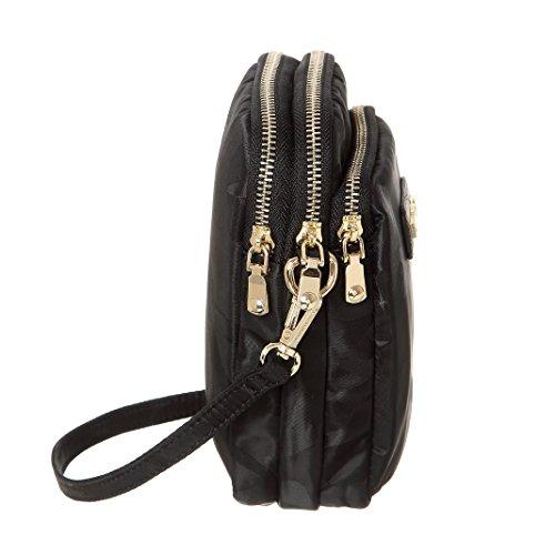 MINICAT Nylon Small Crossbody Bags RFID Blocking Cell Phone Purse For Women (Black-RFID Blocking) by MINICAT (Image #3)
