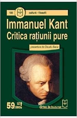 Immanuel Kant Critica Ratiunii Pure Pdf