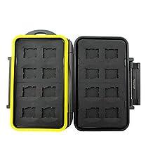 JJC MC-MSD16 Rugged Waterproof Memory Card Case (16x microSD Cards)